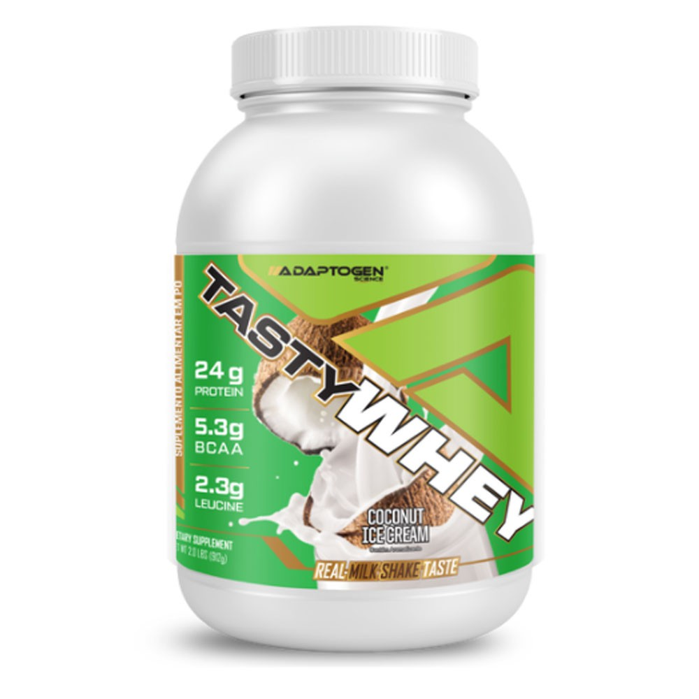 Tasty Whey Coconut Ice Cream 2.0 LBS - Adaptogen  - KFit Nutrition