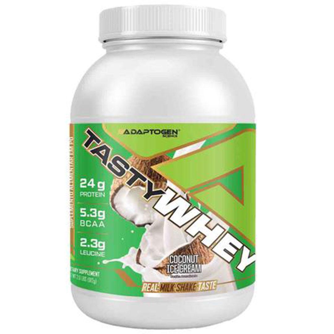 Tasty Whey Coconut Ice Cream 2.0 Lbs e Bcaa 90caps  - KFit Nutrition