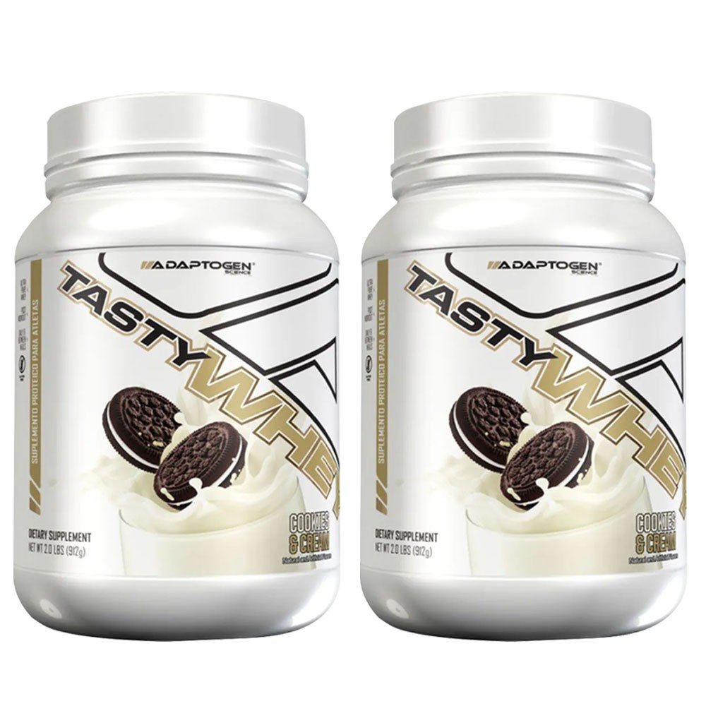 Tasty Whey Cookies  2 LBS - Adaptogen - 50% OFF na 2 Unidade   - KFit Nutrition