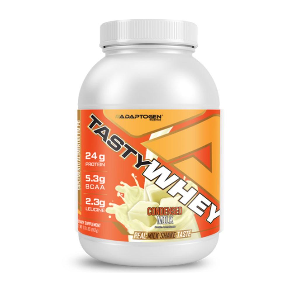 Tasty Whey Leite Condensado 2.0 LBS - Adaptogen  - KFit Nutrition