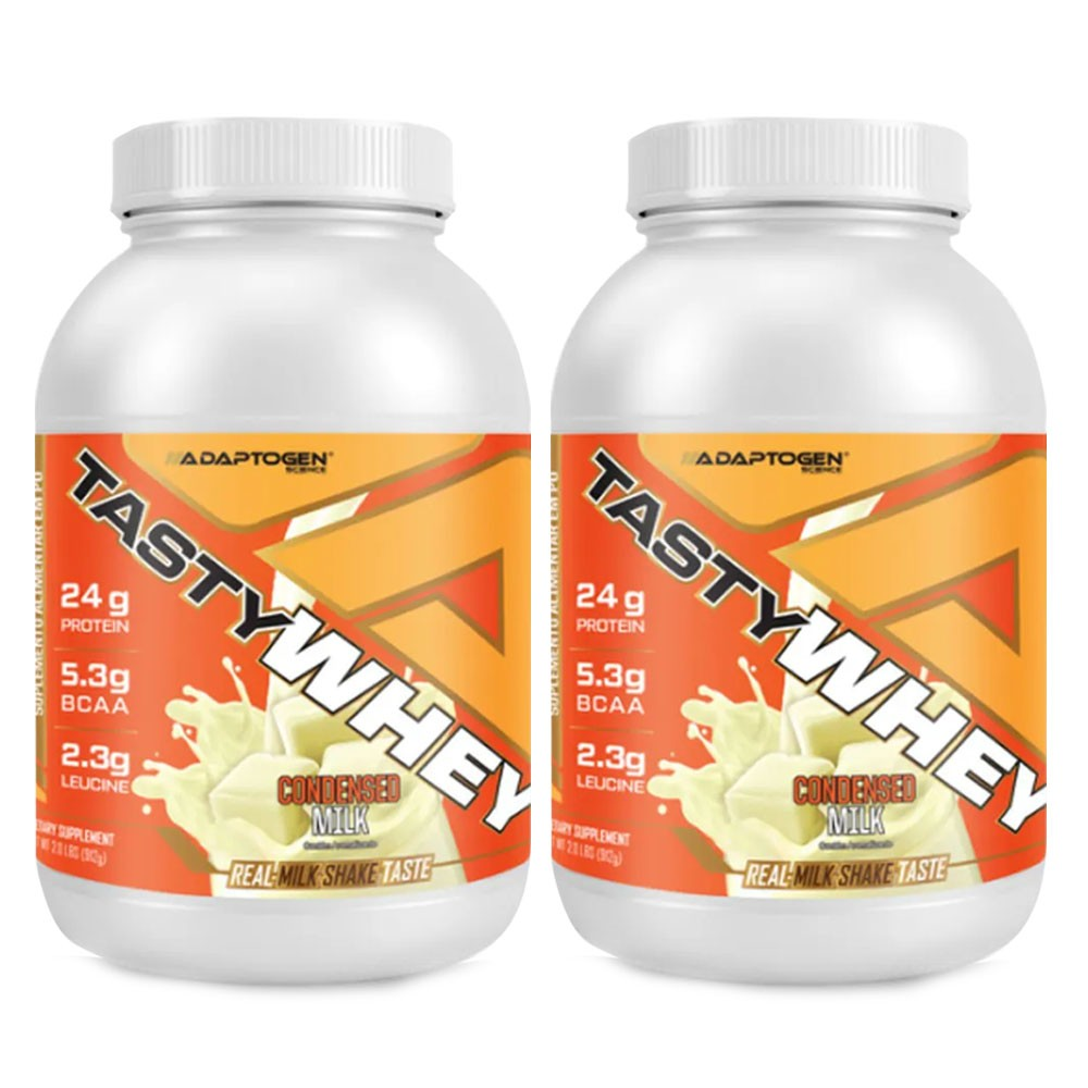 Tasty Whey Leite Condensado 2 LBS - 50% OFF na 2 Unidade  - KFit Nutrition