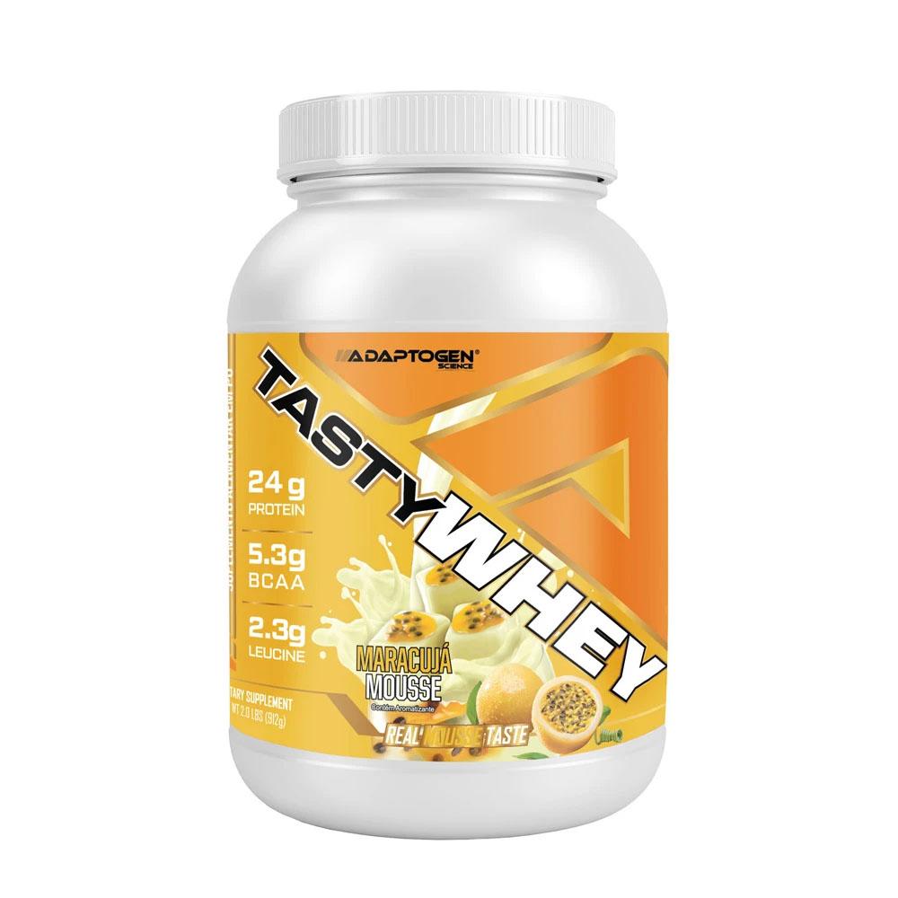 Tasty Whey Maracujá Mousse 2.0 LBS - Adaptogen  - KFit Nutrition