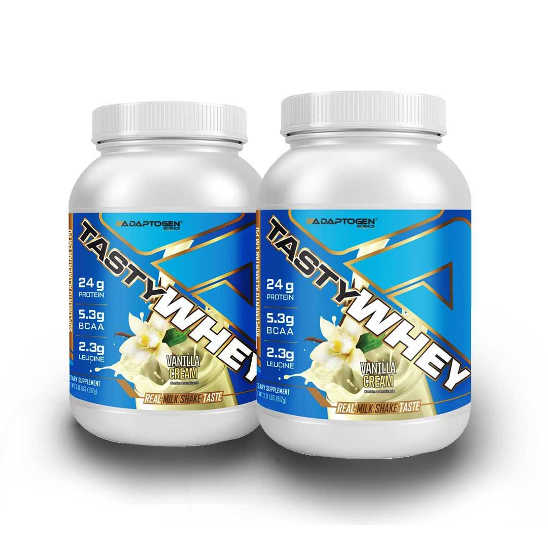 Tasty Whey Vanilla 2 LBS -  50% OFF na 2 Unidade  - KFit Nutrition