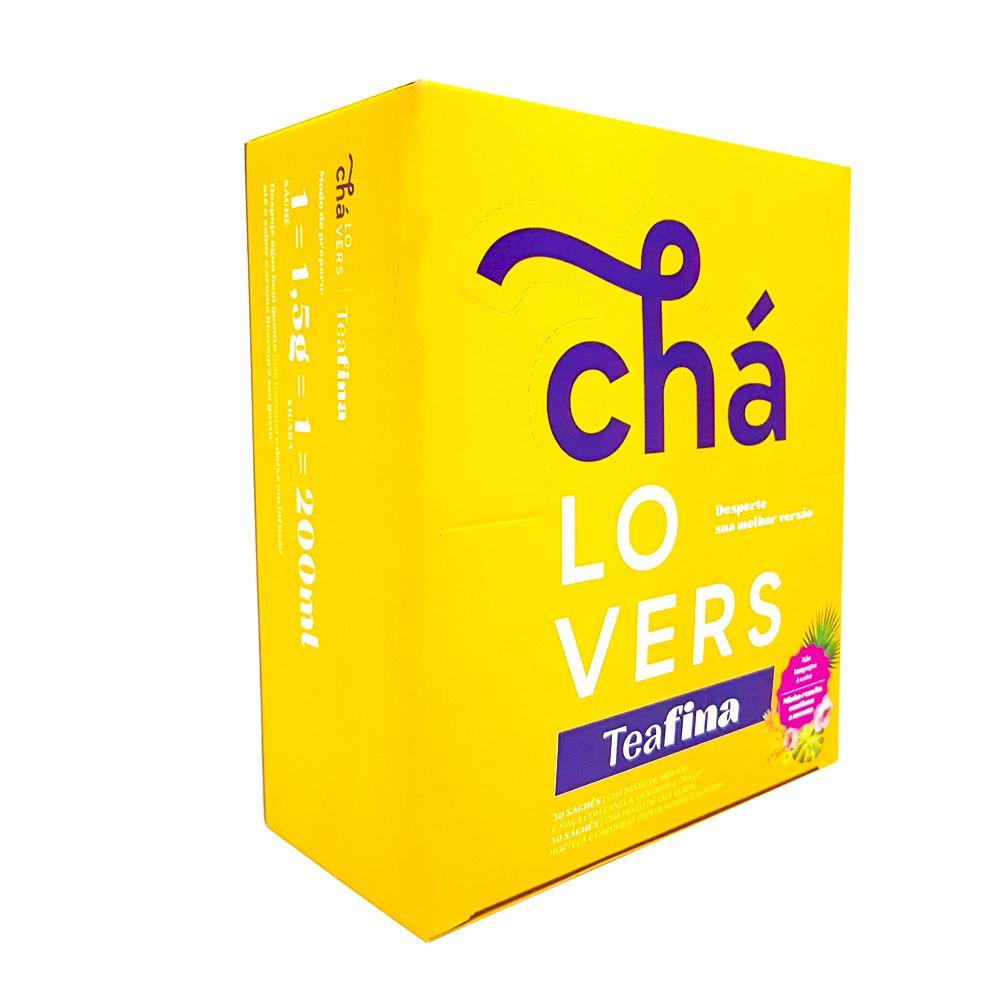 TeaFina 60 Sachês - Chá Lovers  - KFit Nutrition