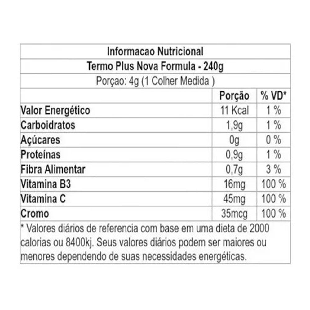 Termo Plus 240G Laranja Vitafor  - KFit Nutrition