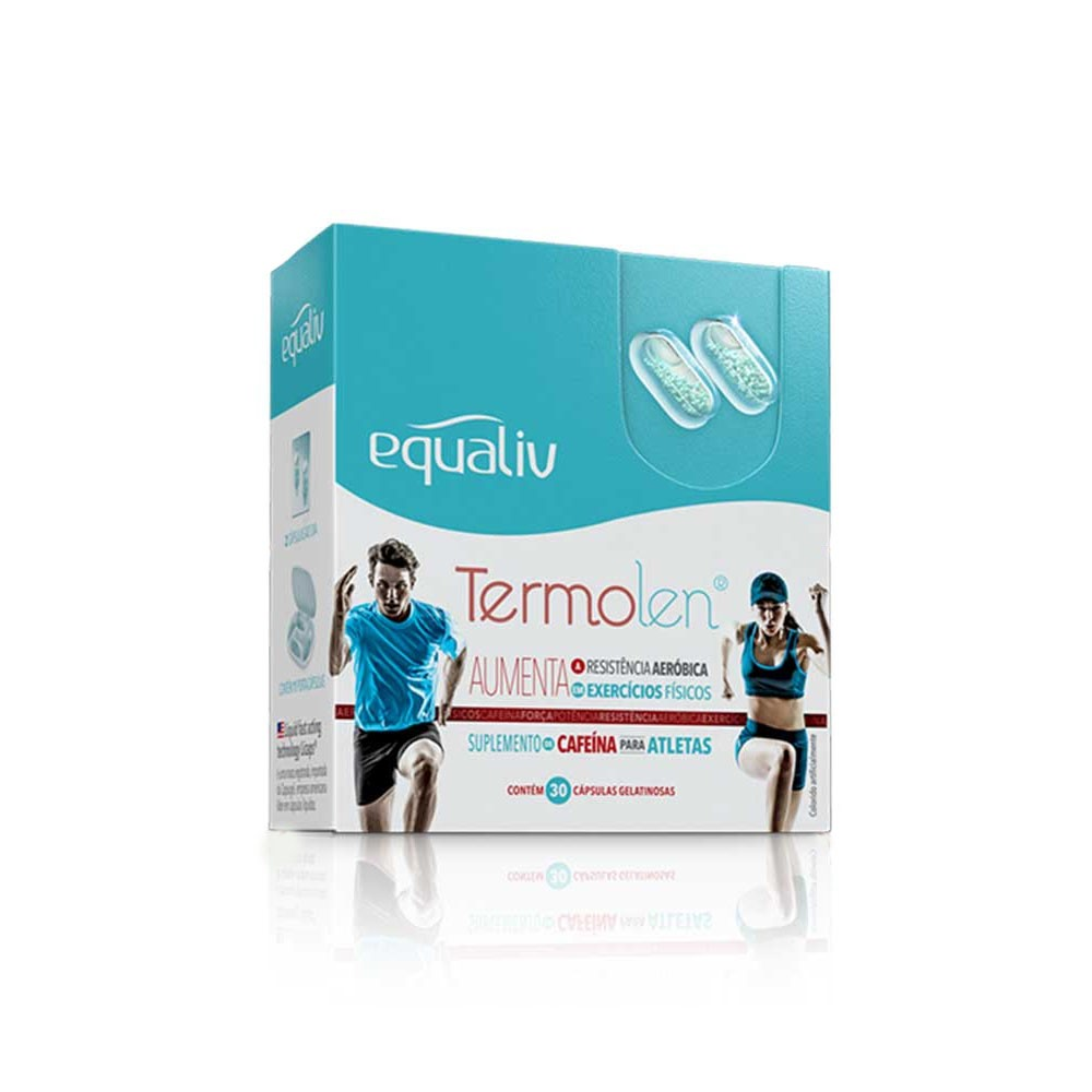 Termolen Termogênico 30 Cáps em Gel - Equaliv  - KFit Nutrition