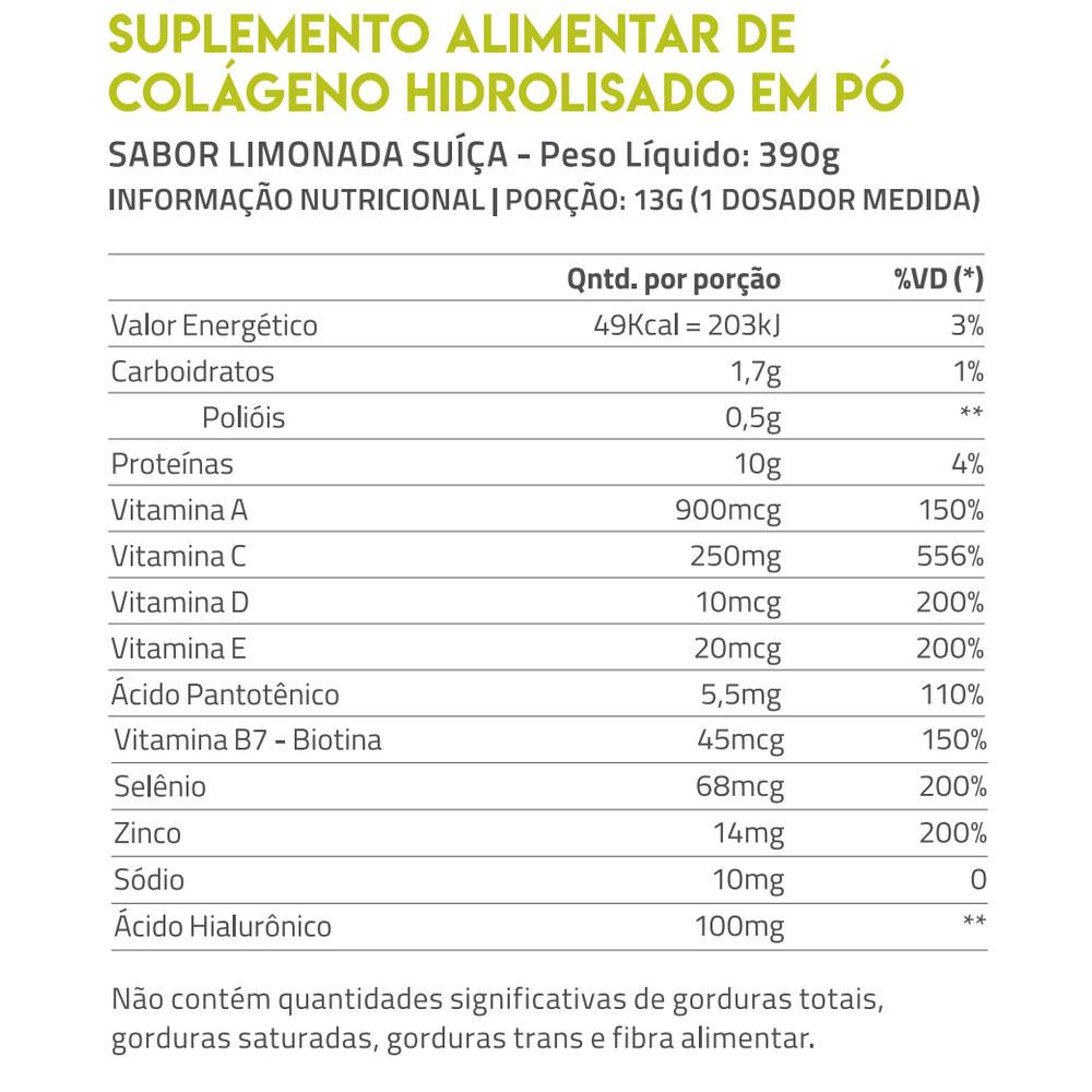 True Collagen 420g Limonada Suiça - True Source  - KFit Nutrition