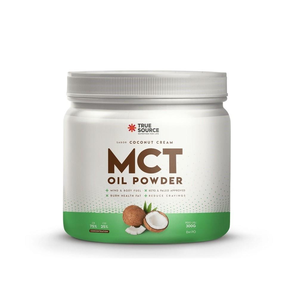 True Mct Oil Powder Coconut Cream 300G  - KFit Nutrition