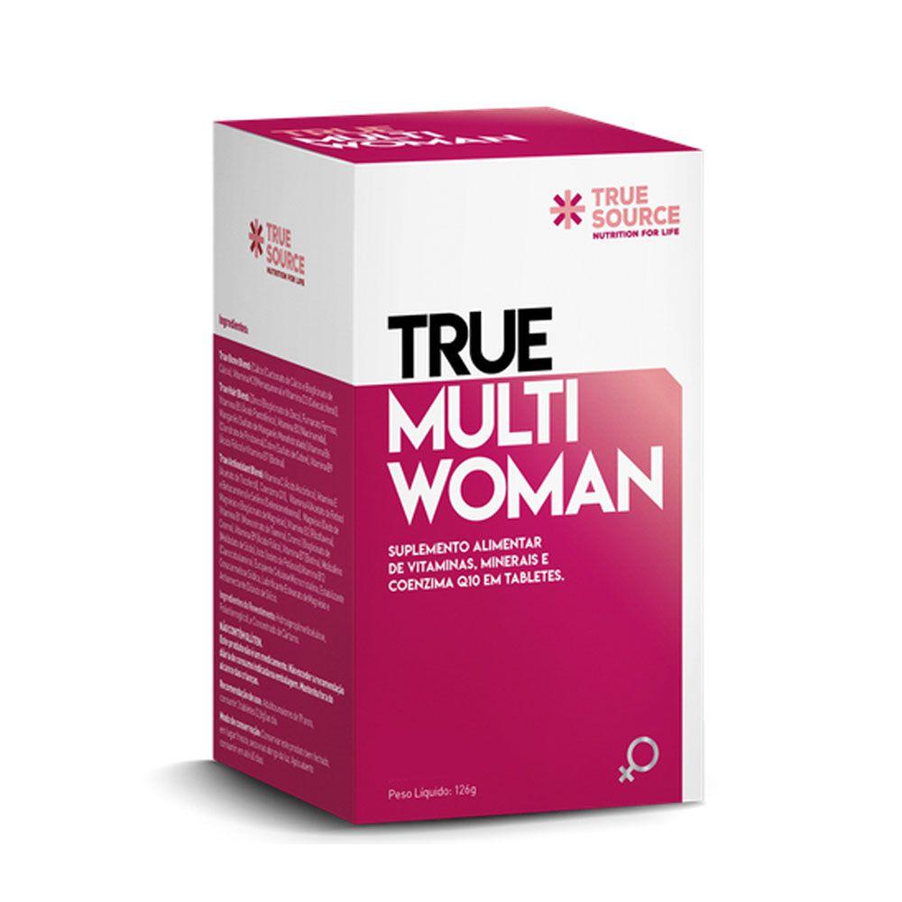 True Multi Woman - Multivitamínico True Source  - KFit Nutrition