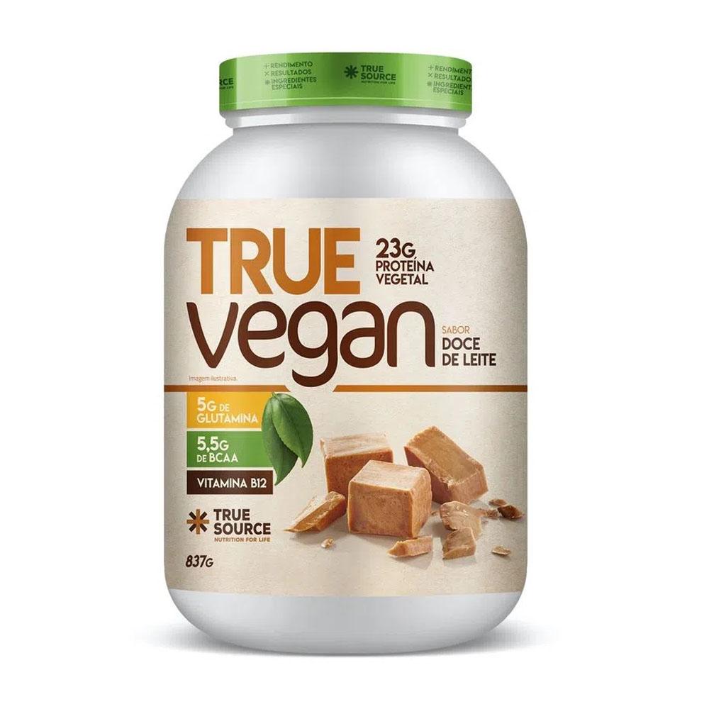 True Vegan Doce de Leite 837g Novo  - True Source  - KFit Nutrition
