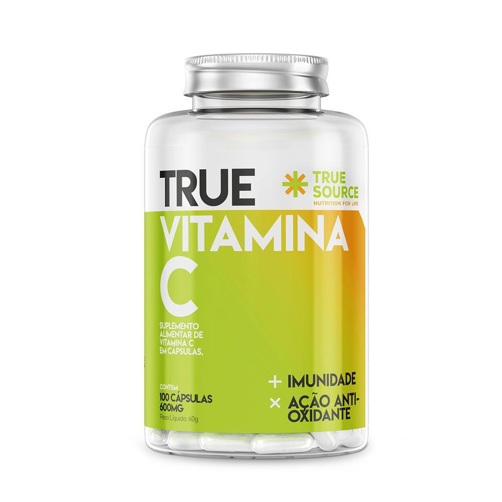 True Vitamina C (500mg) 100 Caps - True Source  - KFit Nutrition
