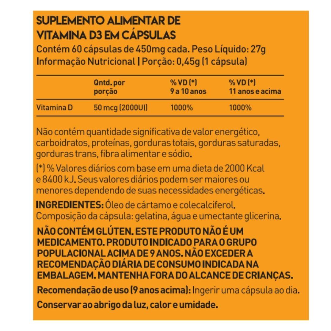 True Vitamina D3 60 Caps - True Source  - KFit Nutrition