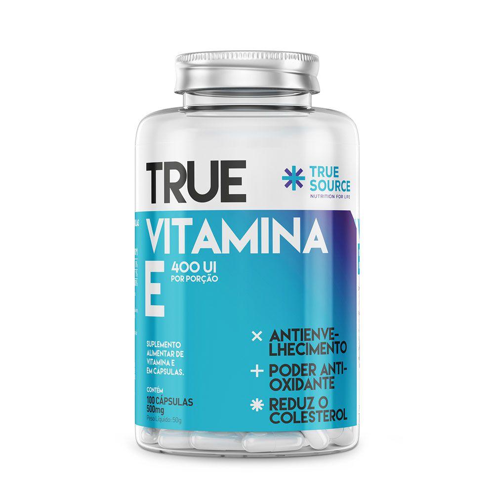 True Vitamina E (500mg) 100 Caps - True Source  - KFit Nutrition