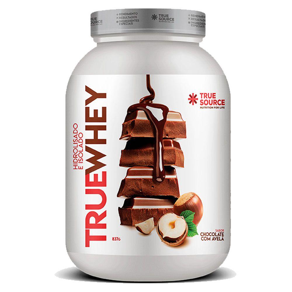True Whey Chocolate com Avela 837g - Hidrolisada Isolada  - KFit Nutrition