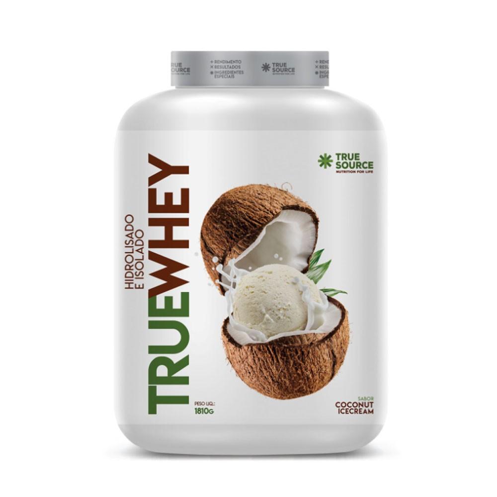 True Whey Coconut Ice Cream 1810G - True Source  - KFit Nutrition
