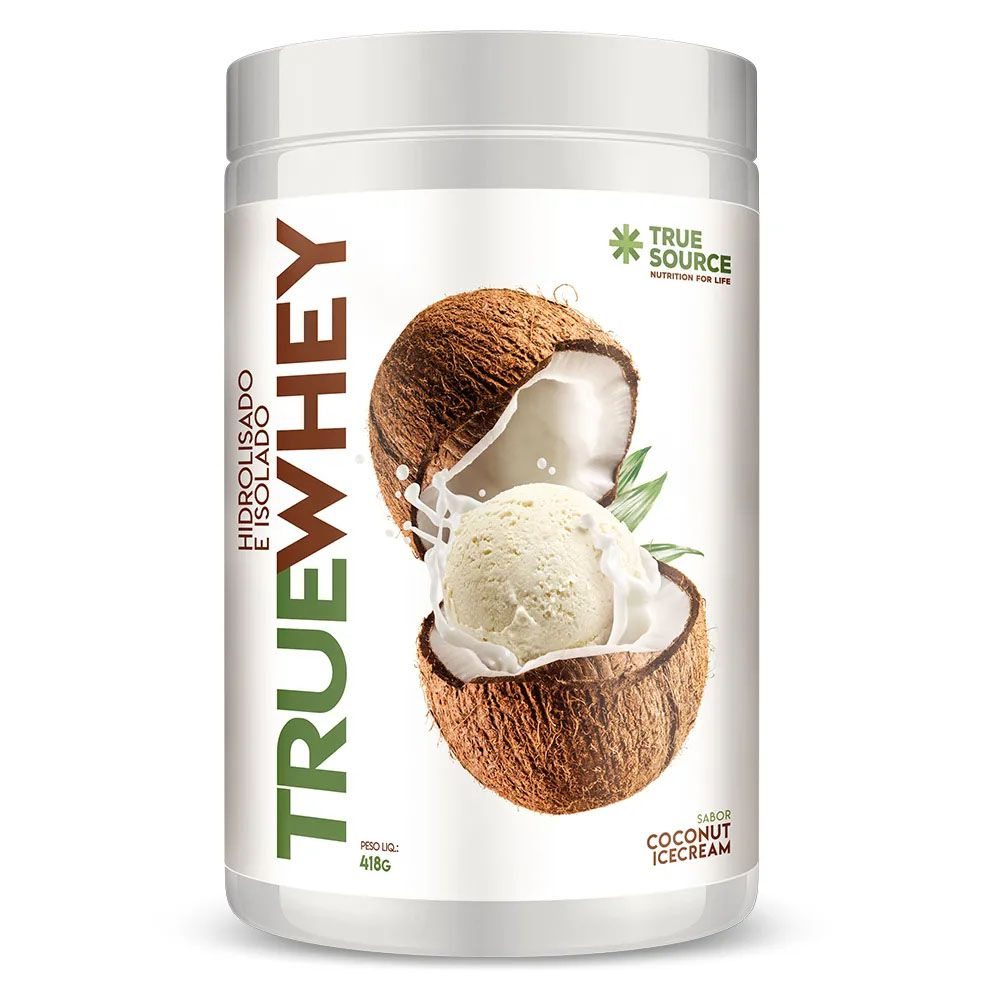True Whey Coconut Icecream 418g - Hidrolisada Isolada - KFit Nutrition