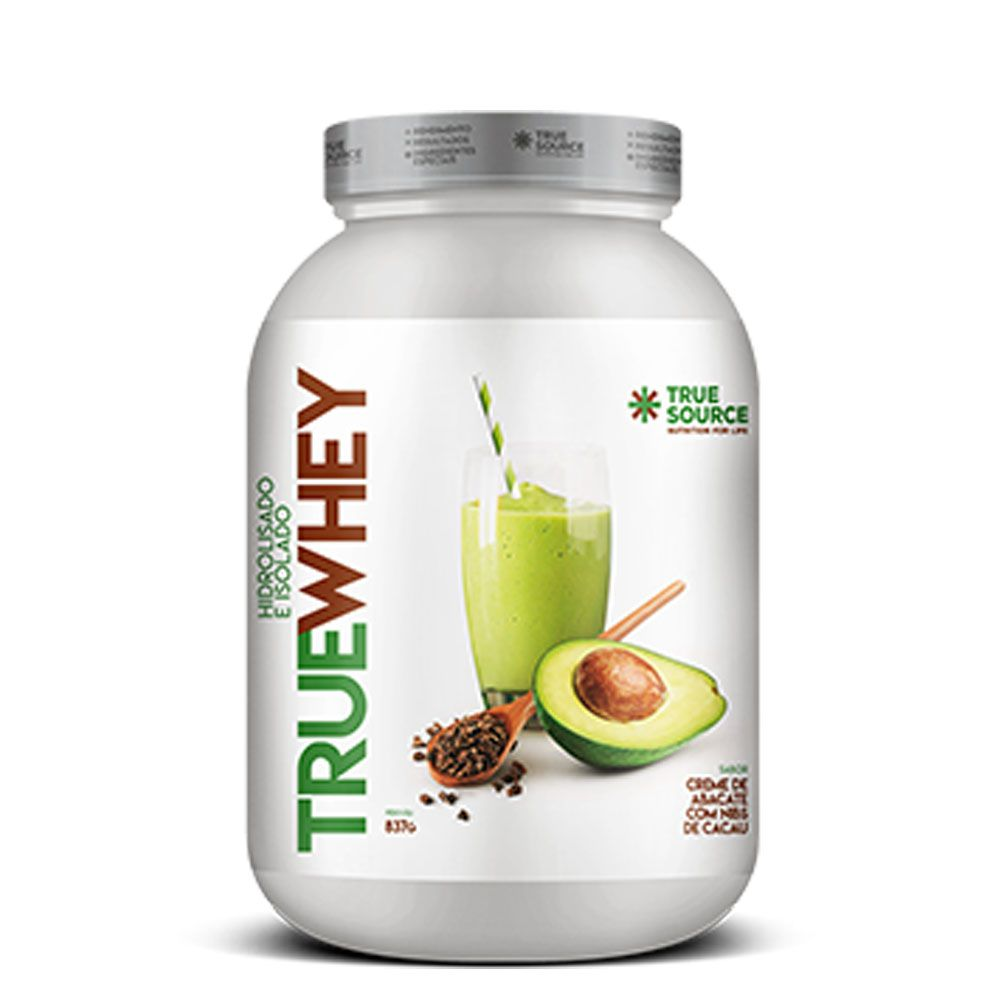 True Whey Creme de Abacate 837g Hidrolisada Isolada  - KFit Nutrition