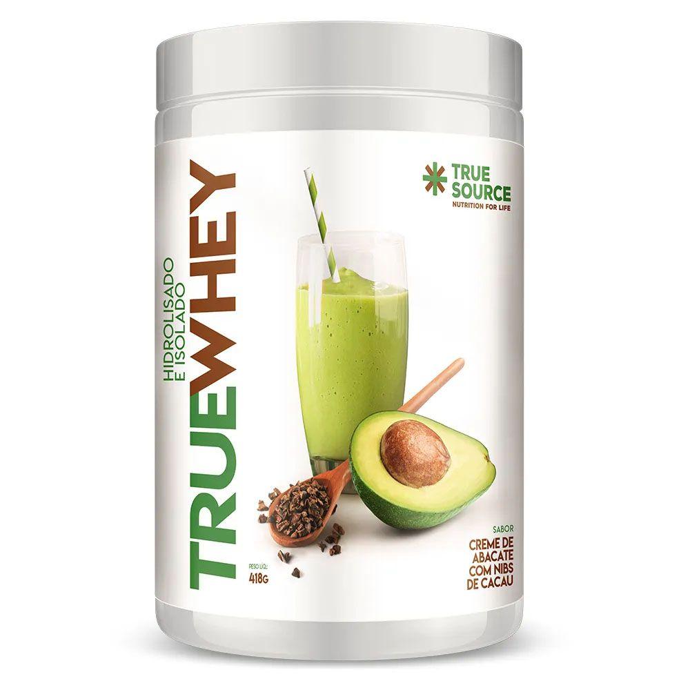True Whey Creme de Abacate Nibs de Cacau 418g - Hidrolisada Isolada  - KFit Nutrition