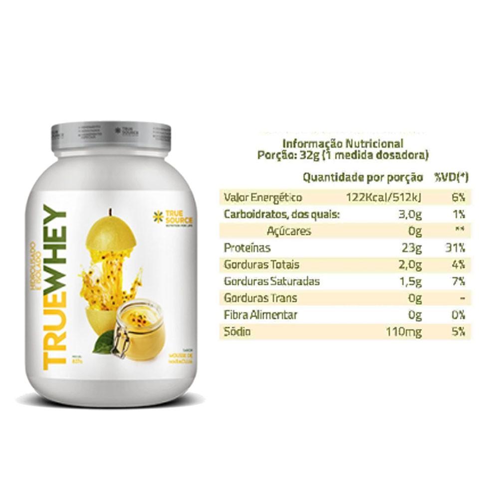 True Whey Maracujá 837g e Creatina 200g  - KFit Nutrition