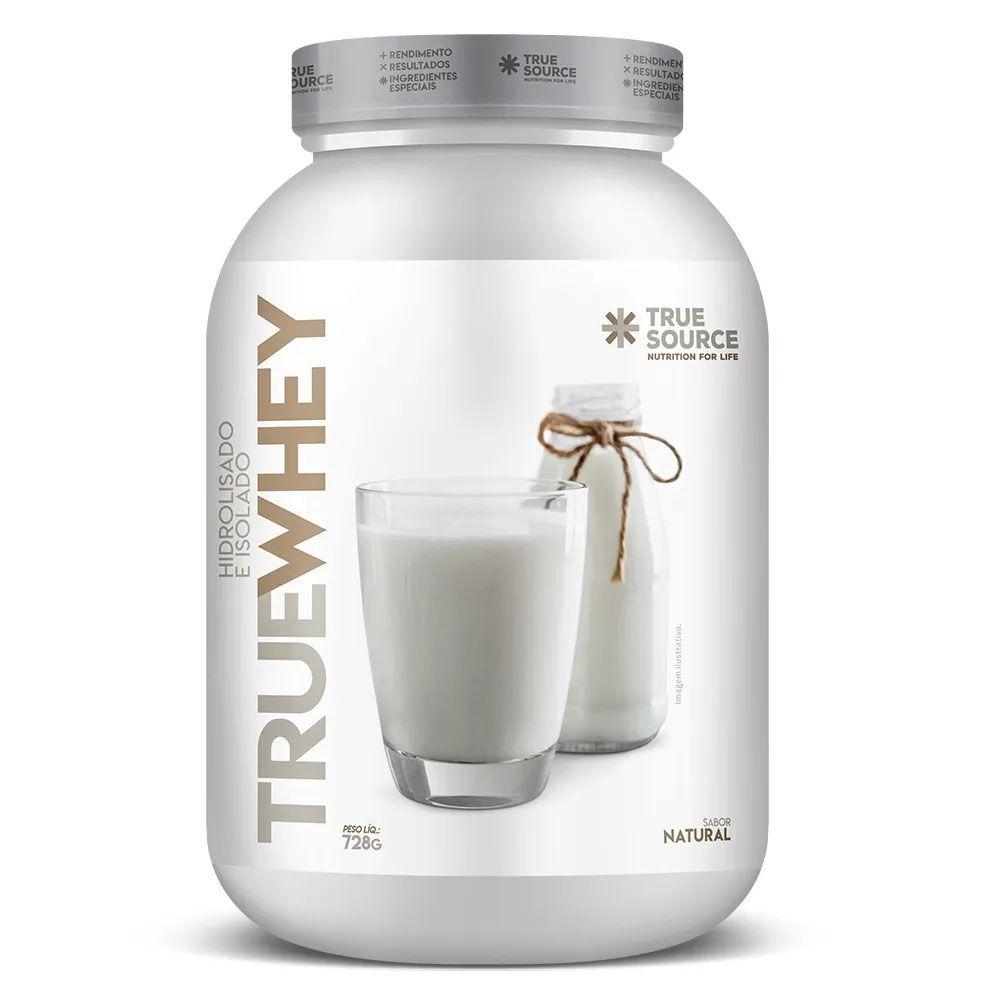 True Whey Natural 728g Hidrolisada Isolada  - KFit Nutrition
