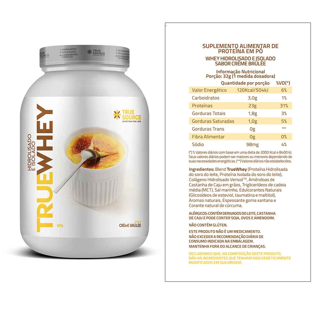 True Whey Vanilla 837g + Supercoffee 2.0 220g  - KFit Nutrition