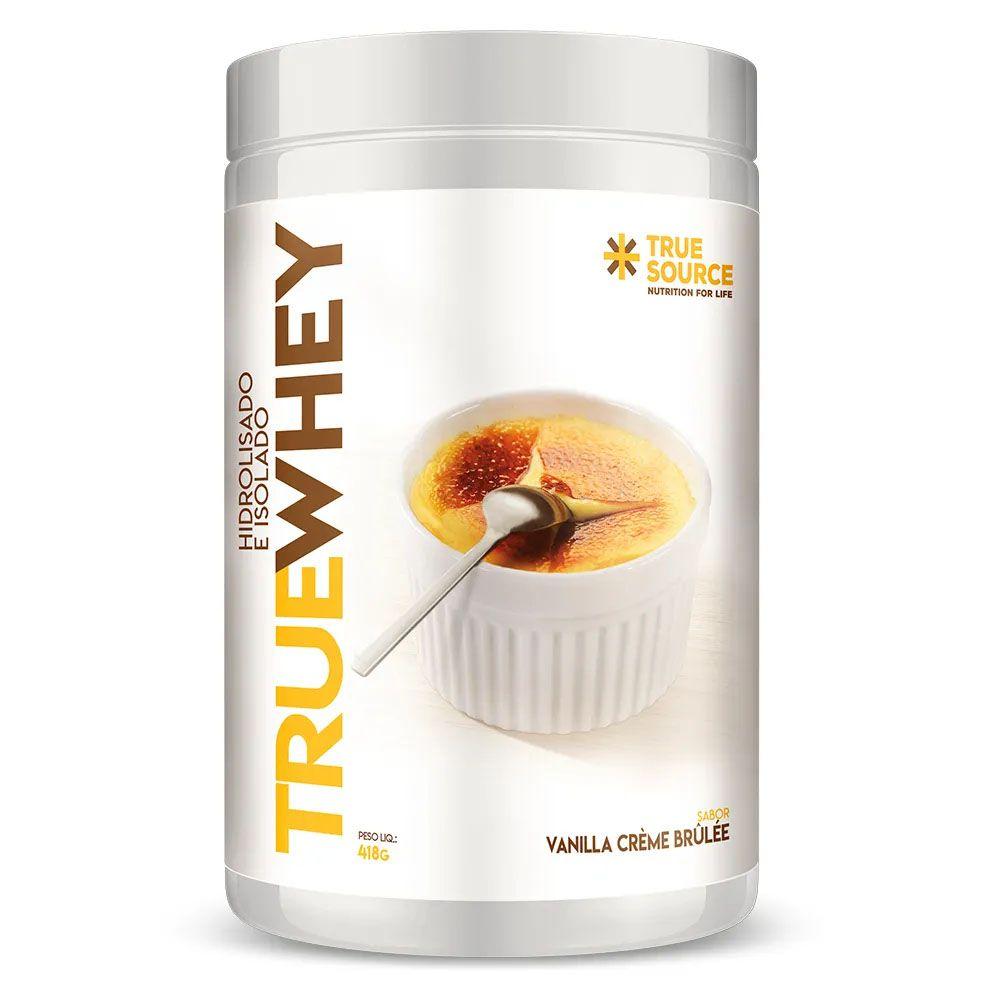 True Whey Vanilla Creme Brulee 418g - Hidrolisada Isolada  - KFit Nutrition