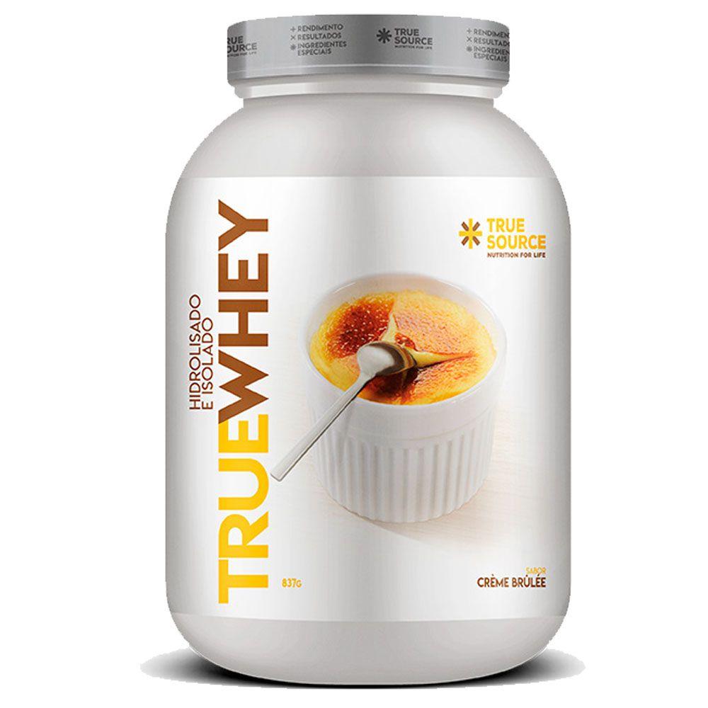 True Whey Vanilla Creme Brulle 837g - Hidrolisada Isolada  - KFit Nutrition