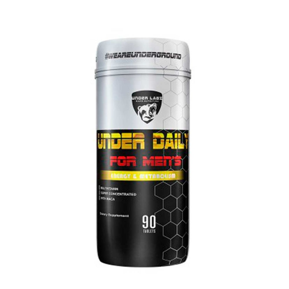 Under Daily For Men 90 Tab - Multivitamínico Masculino Under Labz  - KFit Nutrition