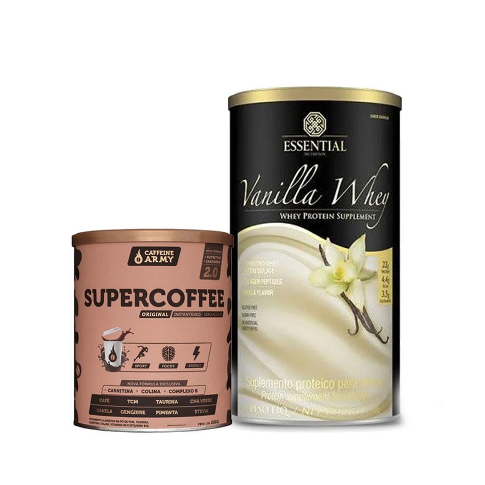 Vanilla Whey 450G E Supercoffee 220g 2.0  - KFit Nutrition