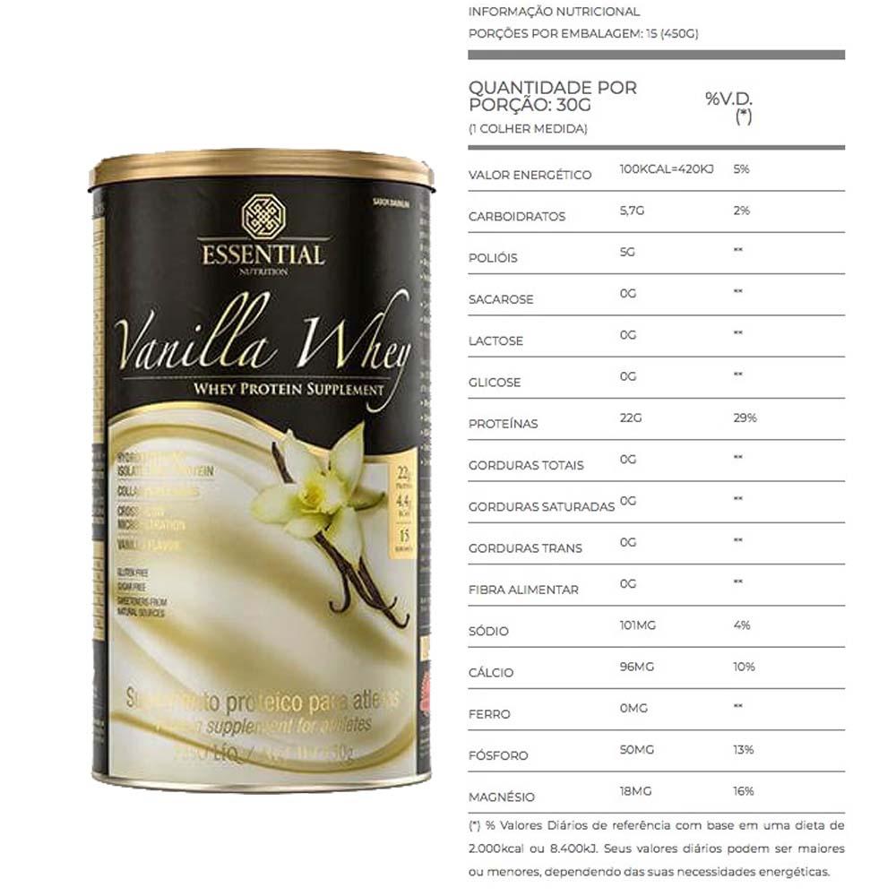 Vanilla Whey 450G Essential Nutrition 2   - KFit Nutrition