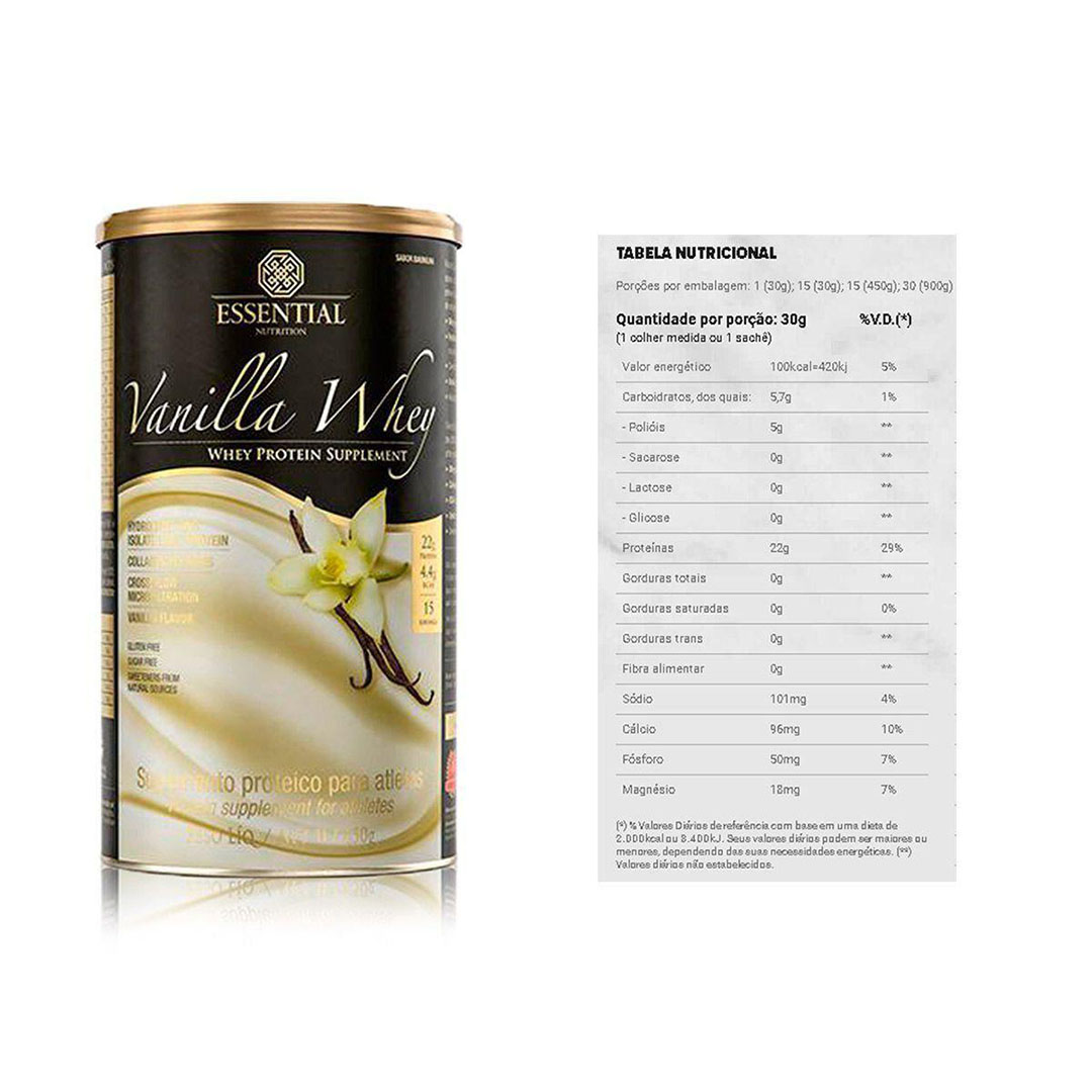 Vanilla Whey 900g e Supercoffee 220g 2.0  - KFit Nutrition