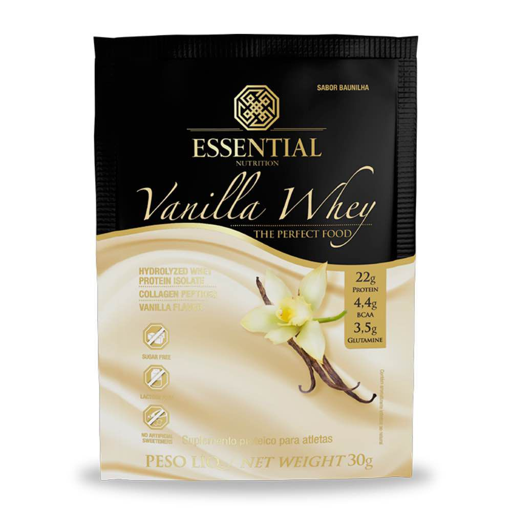 Vanilla Whey Essential Sachê 30G Essential Nutrition  - KFit Nutrition