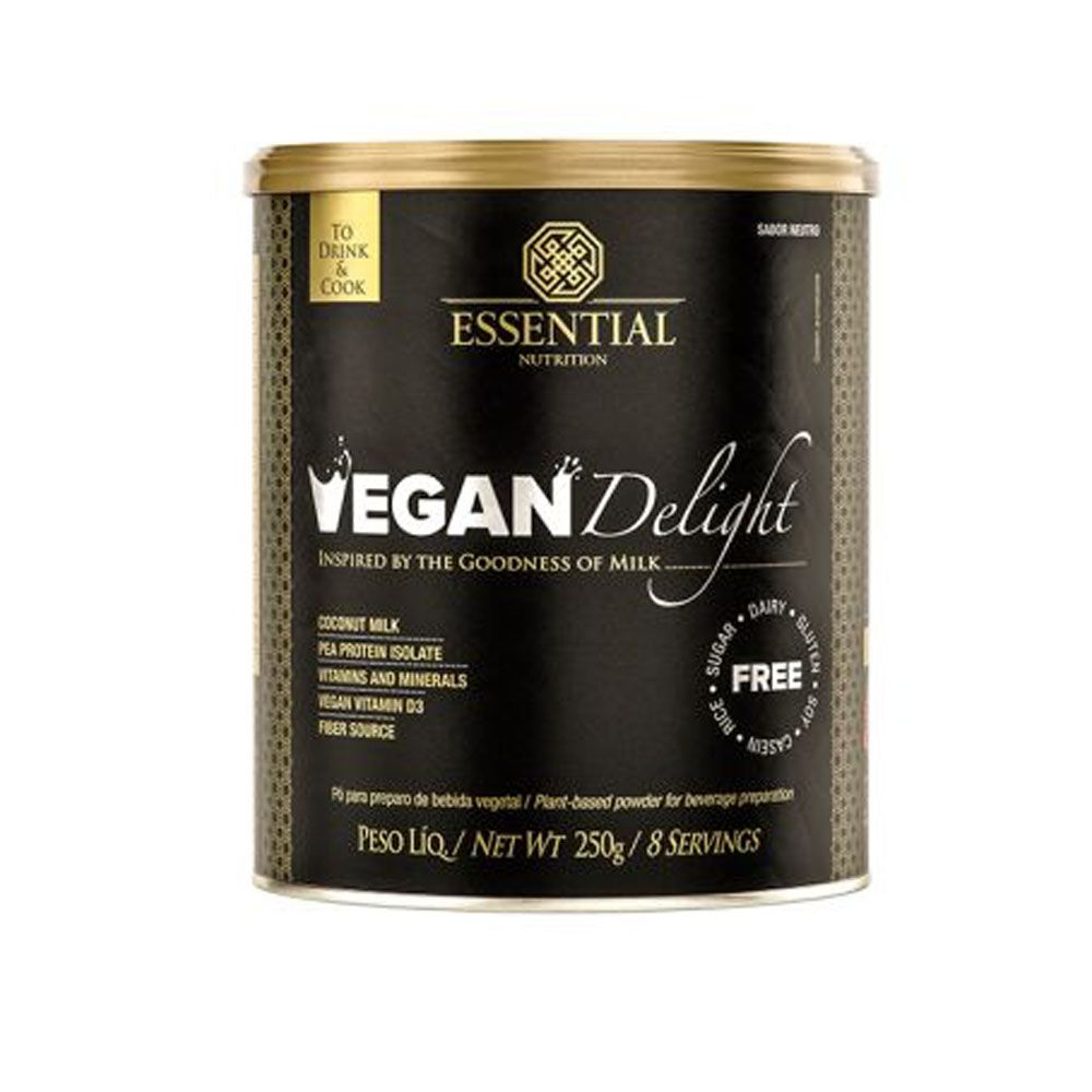 Vegan Delight 250g Essential Nutrition  - KFit Nutrition
