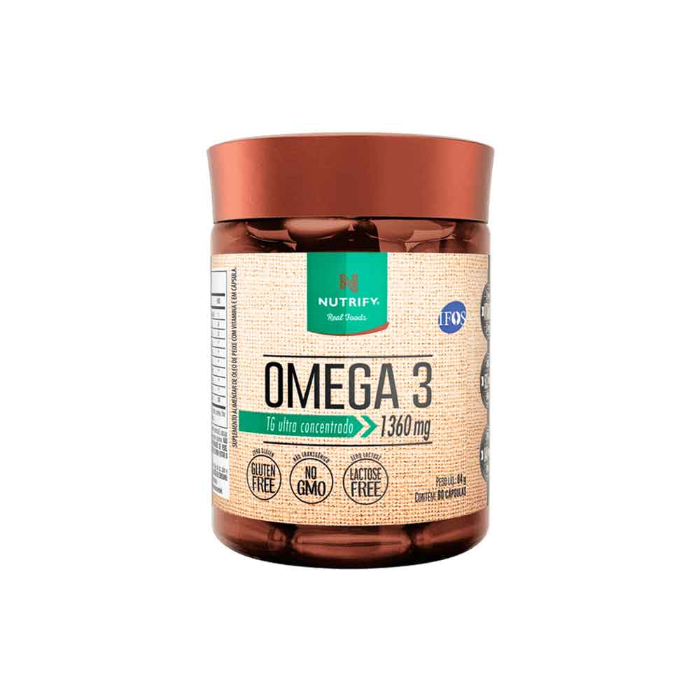 Vegan Omega 3 Dha 6o Caps - Nutrifyy  - KFit Nutrition