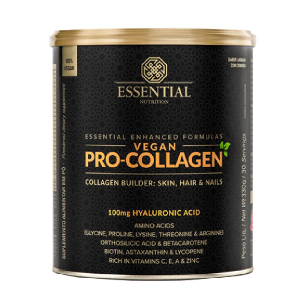 Vegan Pro-Collagen Lata 330G - 30 Doses Essential  - KFit Nutrition