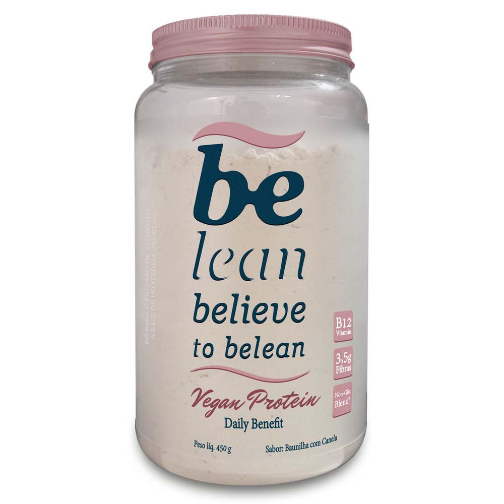Vegan Protein Daily Benefit Baunilha com Canela 450g - Be Lean  - KFit Nutrition