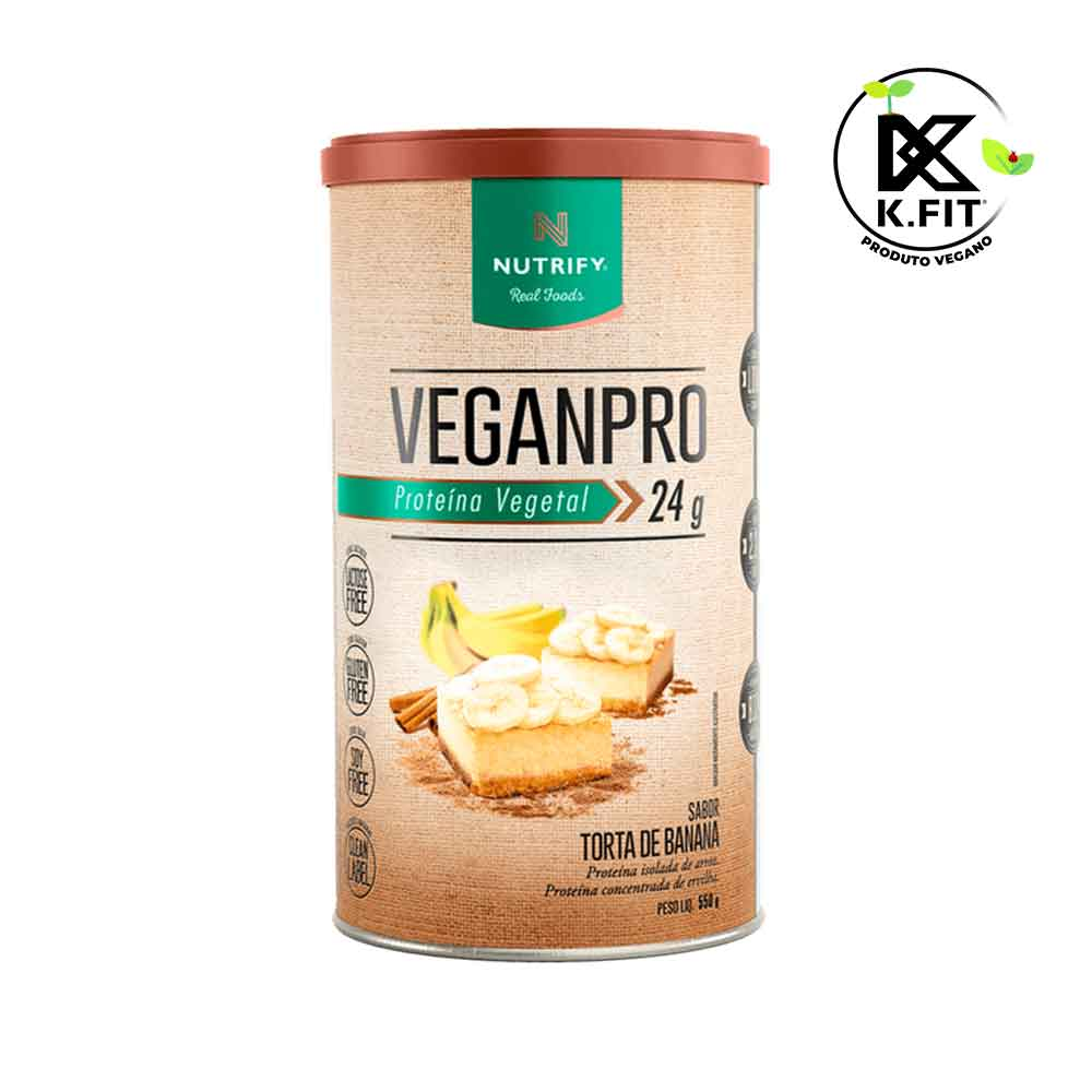 Veganpro Torta de Banana- 550g - Nutrify  - KFit Nutrition