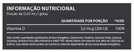 Vit D3 60 ML Atlhetica  - KFit Nutrition