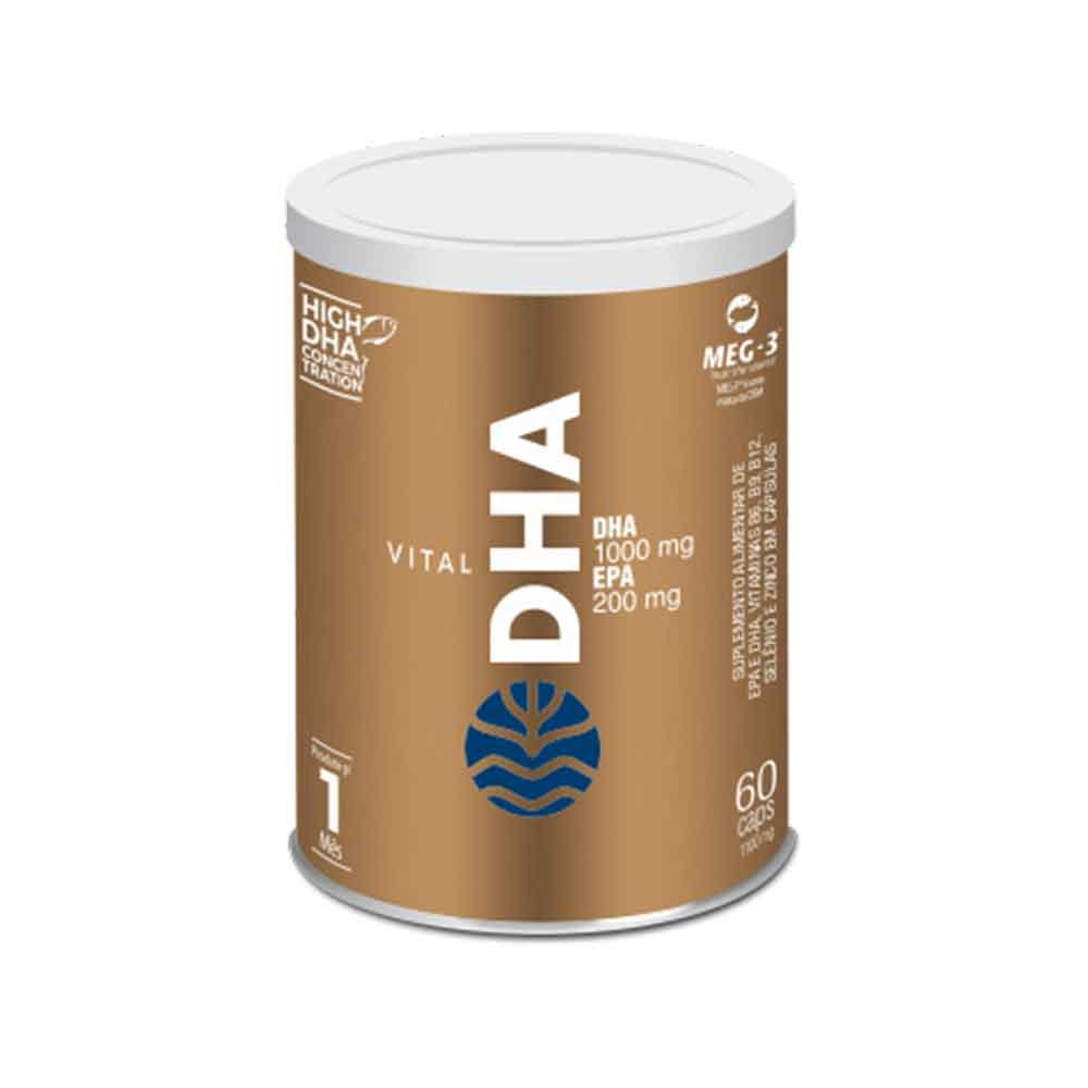 Vital Dha 60 Caps - Vital Âtman  - KFit Nutrition