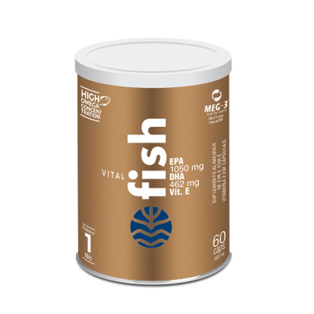 Vital Fish 60 caps Nova Embalagem - Vital Atman  - KFit Nutrition
