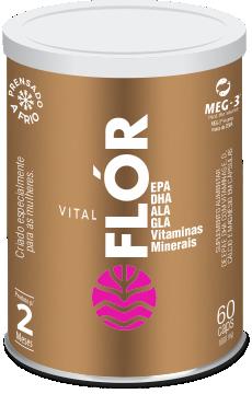 Vital Flor 1g 60 Caps  Vital Atman  - KFit Nutrition