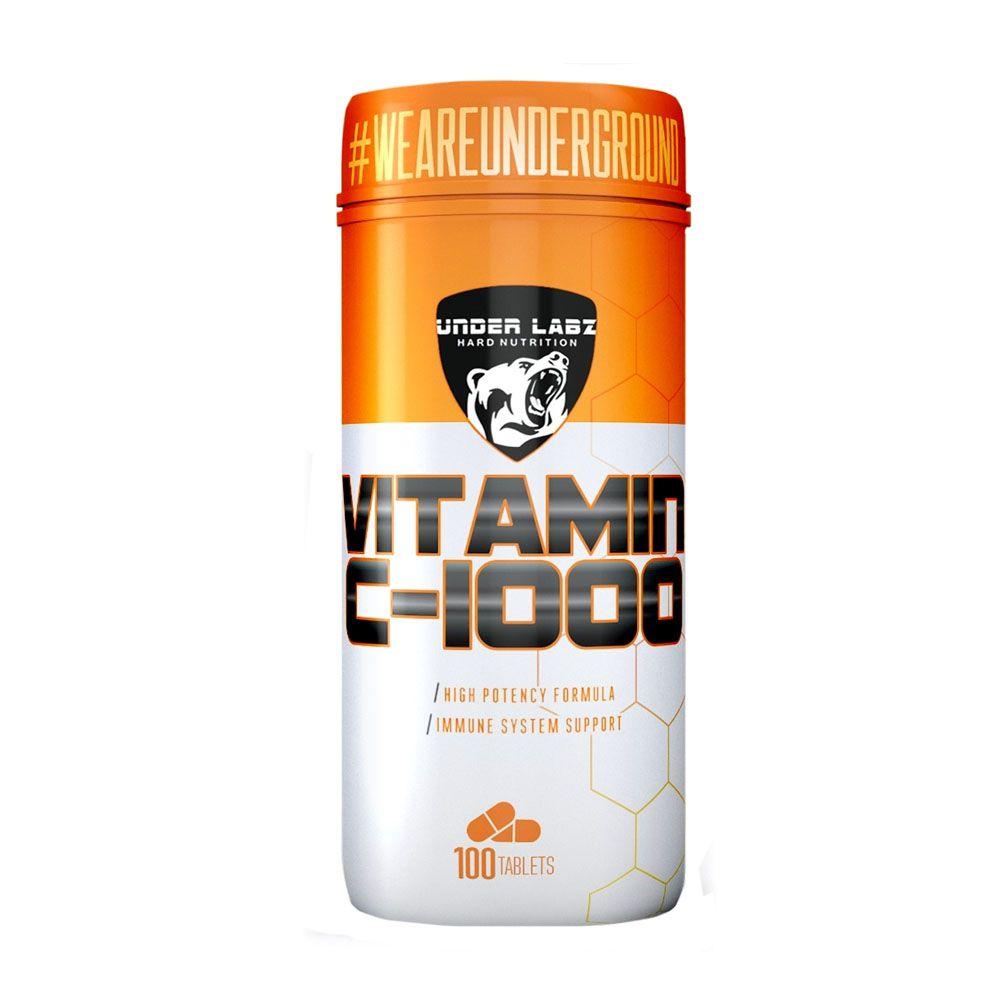 Vitamina C 1000mg 100 Tabs - Under Labz  - KFit Nutrition