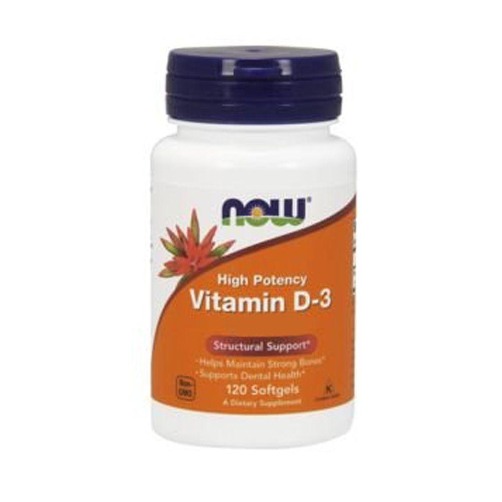 Vitamin D3 - 5000IU 120 Softgels  - KFit Nutrition