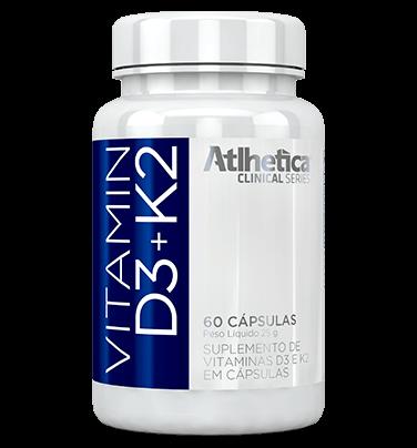 Vitamin D3+K2 60 Caps Atlhetica  - KFit Nutrition