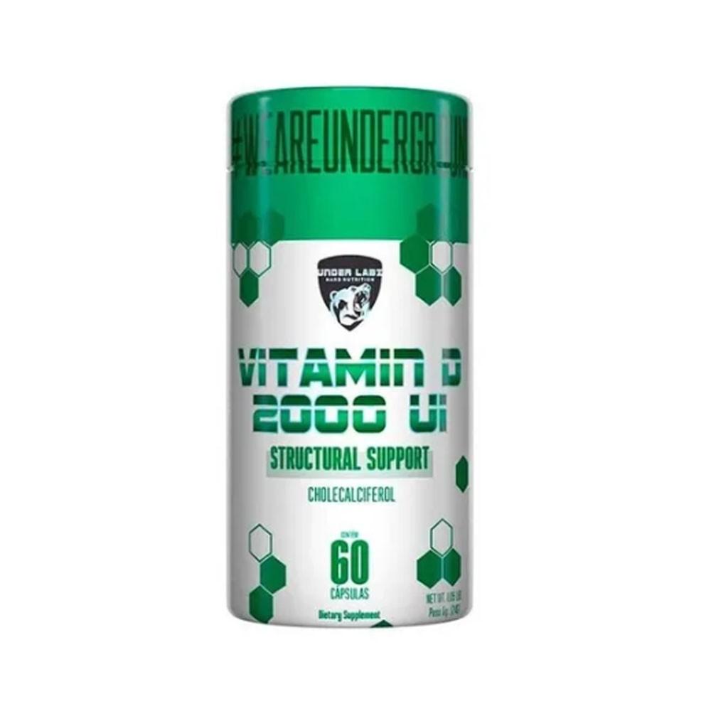 Vitamin D 2000 Ui 60 Cáps - Under Labz  - KFit Nutrition