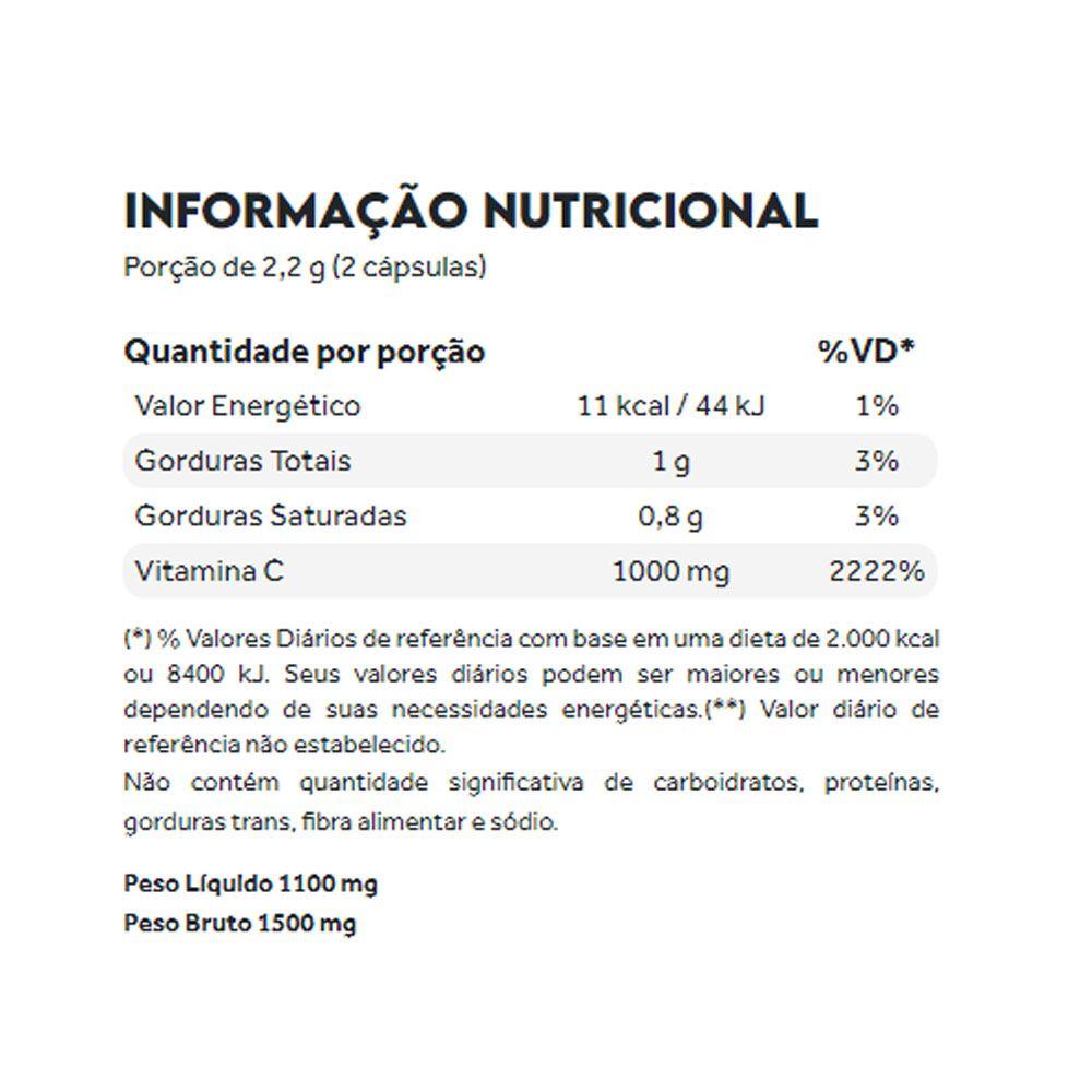 Vitamina C Lipossomal 60 Caps  - Puravida  - KFit Nutrition