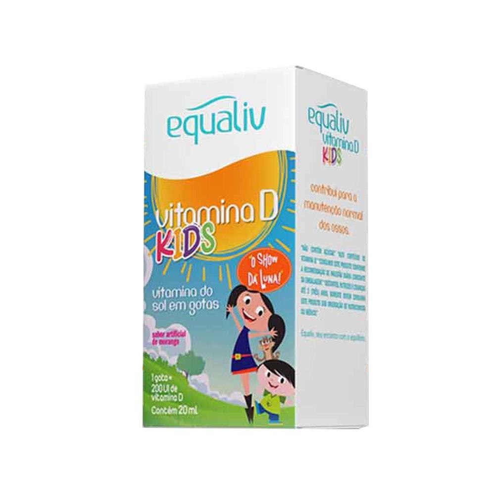 Vitamina D Kids 200UI 20ml - Equaliv  - KFit Nutrition