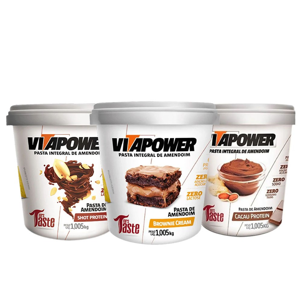 Vitapower Cacau + Brownie + Shot  - KFit Nutrition