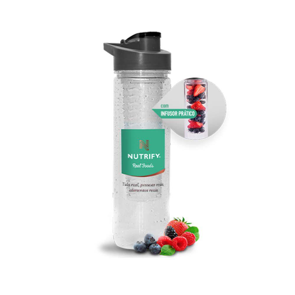 Water Bottle Com Infusor 800ml - Nutrify  - KFit Nutrition