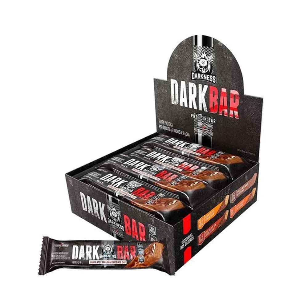 Whey Bar Darkness Chocolate com Coco Cx 8 Un  - KFit Nutrition
